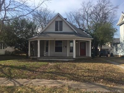 Sapulpa Single Family Home For Sale: 512 S Poplar Street