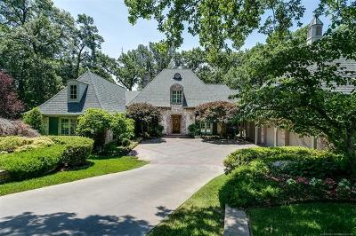 Tulsa Single Family Home For Sale: 9720 S Marion Avenue