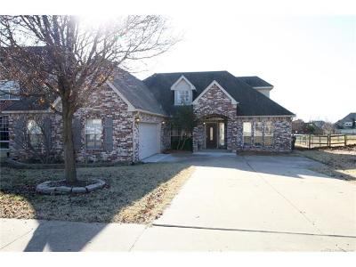 Owasso Single Family Home For Sale: 10110 E 93rd Street North