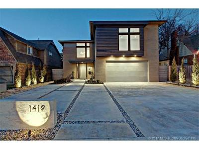 Broken Arrow, Jenks, Tulsa Single Family Home For Sale: 1419 E 36th Street