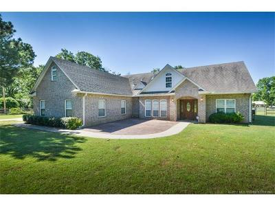 Sapulpa Single Family Home For Sale: 11648 W 161st Street S