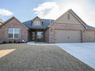 Jenks Single Family Home For Sale: 12917 S 2nd Street