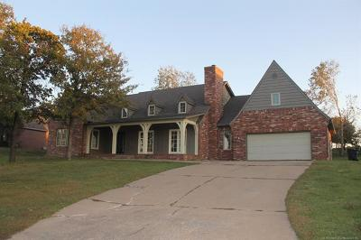 Sapulpa Single Family Home For Sale: 4020 Frontier Road