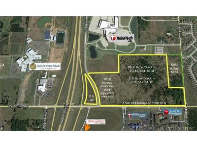 Owasso Residential Lots & Land For Sale: Hwy 169 106th Street North