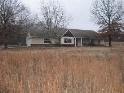 Claremore Single Family Home For Sale: 15215 E 470 Road