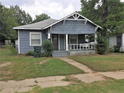 Okmulgee Single Family Home For Sale: 409 S Muskogee Avenue
