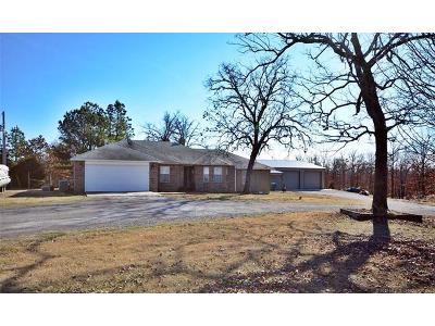 Park Hill OK Single Family Home For Sale: $245,500