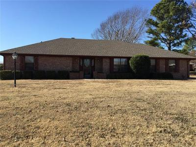 Ada OK Single Family Home For Sale: $163,900