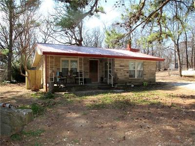 Vian OK Single Family Home For Sale: $134,500