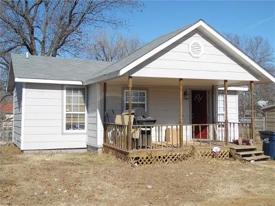 Ada OK Single Family Home For Sale: $55,000