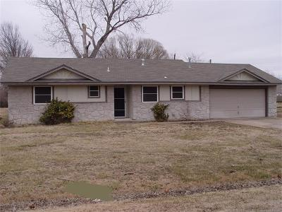 Collinsville Single Family Home For Sale: 11727 N 190th East Avenue