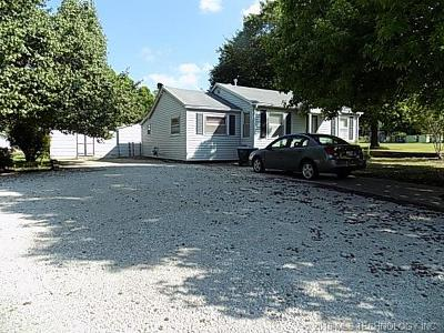 Holdenville OK Single Family Home For Sale: $65,900