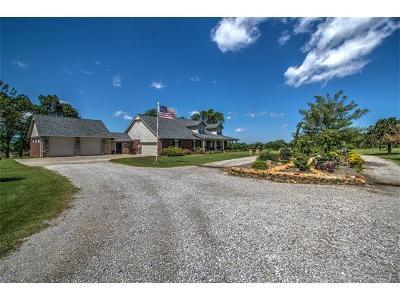 Coweta Single Family Home For Sale: 16428 S 225th East Avenue