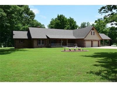 Tahlequah Single Family Home For Sale: 13258 Hwy 10 Highway