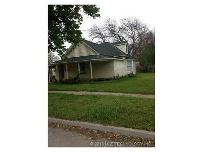 Claremore Single Family Home For Sale: 212 S Normal Avenue