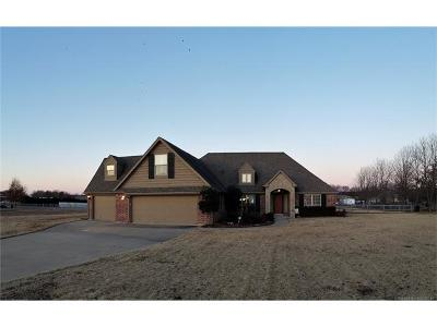 Claremore Single Family Home For Sale: 20082 S River Ranch Road E