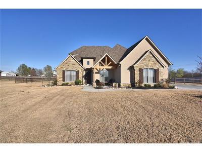 Bixby Single Family Home For Sale: 18071 S 72nd East Avenue