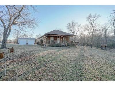 Claremore Single Family Home For Sale: 24160 S 4151 Road