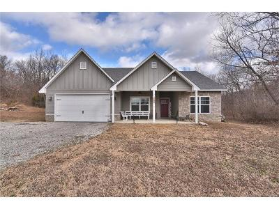 Claremore Single Family Home For Sale: 15073 S Ash Valley Lane