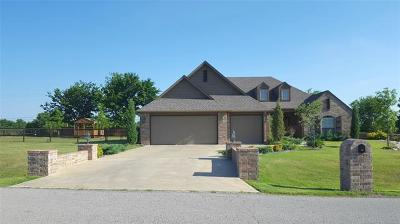 Claremore OK Single Family Home For Sale: $259,800