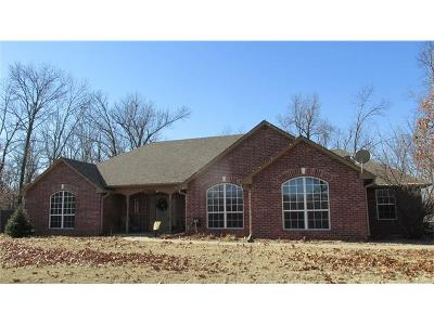 Claremore Single Family Home For Sale: 16952 Neel Drive