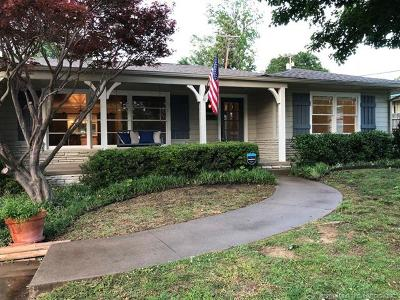 Tulsa Single Family Home For Sale: 4135 S Pittsburg Avenue