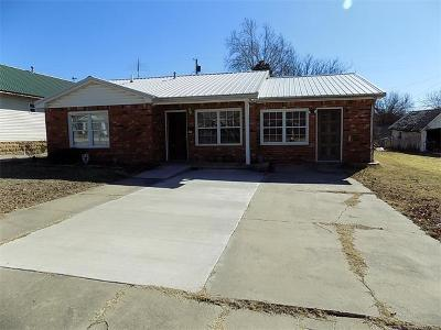 Holdenville OK Single Family Home For Sale: $75,900