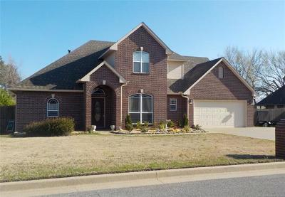 Fort Gibson Single Family Home For Sale: 1410 Hickory Hills Drive