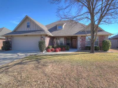 Glenpool Single Family Home For Sale: 13517 S Poplar Court
