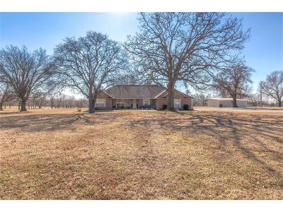 Claremore Single Family Home For Sale: 14772 E 460 Road