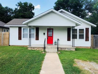 Ada OK Single Family Home For Sale: $85,900