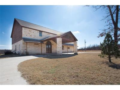 Skiatook Single Family Home For Sale: 21275 N Javine Hill Road