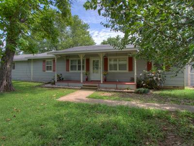Okmulgee Single Family Home For Sale: 19730 Sharp Road