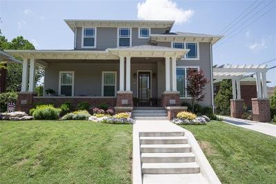 Tulsa Single Family Home For Sale: 1814 S Detroit Avenue