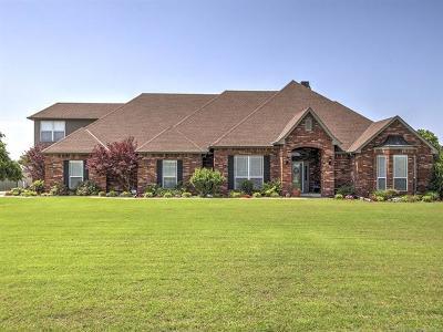 Sapulpa Single Family Home For Sale: 5500 W 131st Street S