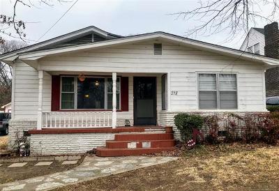 Ada Single Family Home For Sale: 218 E 26th Street