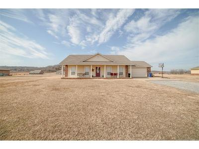 Claremore Single Family Home For Sale: 19240 Coyote Trail
