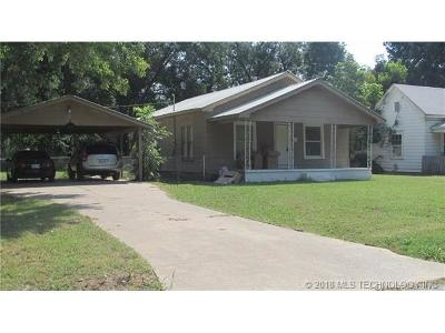 Sapulpa Single Family Home For Sale: 703 S Park Street