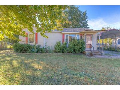 Sand Springs Single Family Home For Sale: 310 W 43rd Street