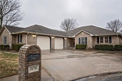 Tahlequah Single Family Home For Sale: 3070 Timbers Lane
