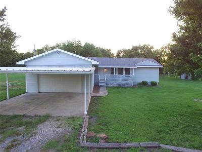 Mounds OK Single Family Home For Sale: $179,900