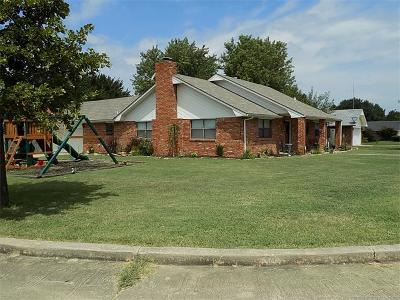 Holdenville OK Single Family Home For Sale: $119,900