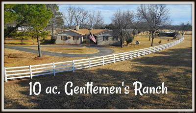 Ada Single Family Home For Sale: 15811 County Road 1595