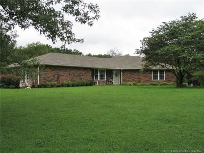 Muskogee Single Family Home For Sale: 3401 N 11th Street W