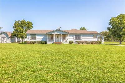 Coweta Single Family Home For Sale: 21452 S 315 Avenue E