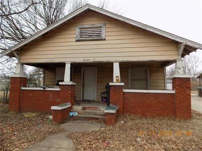 Okmulgee Single Family Home For Sale: 1405 E 6th Street