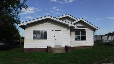 Okmulgee Single Family Home For Sale: 12165 Old Hwy 75