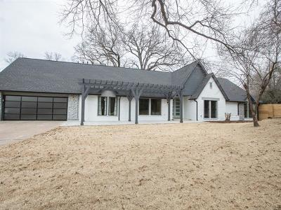 Tulsa Single Family Home For Sale: 4801 S Lewis Place