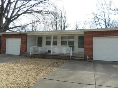 Tulsa OK Rental For Rent: $700