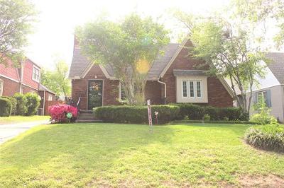 Tulsa Single Family Home For Sale: 1643 S College Avenue